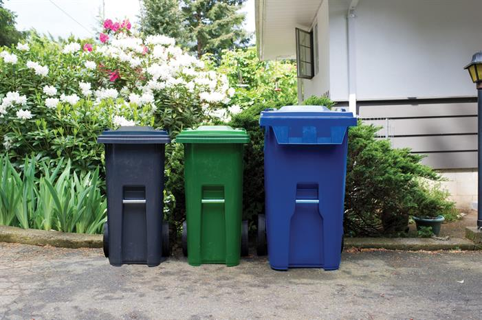 Residents in the City of Nanaimo are getting three new automated waste collection carts: black for garbage, green for organics (food and yard waste) and blue for recycling